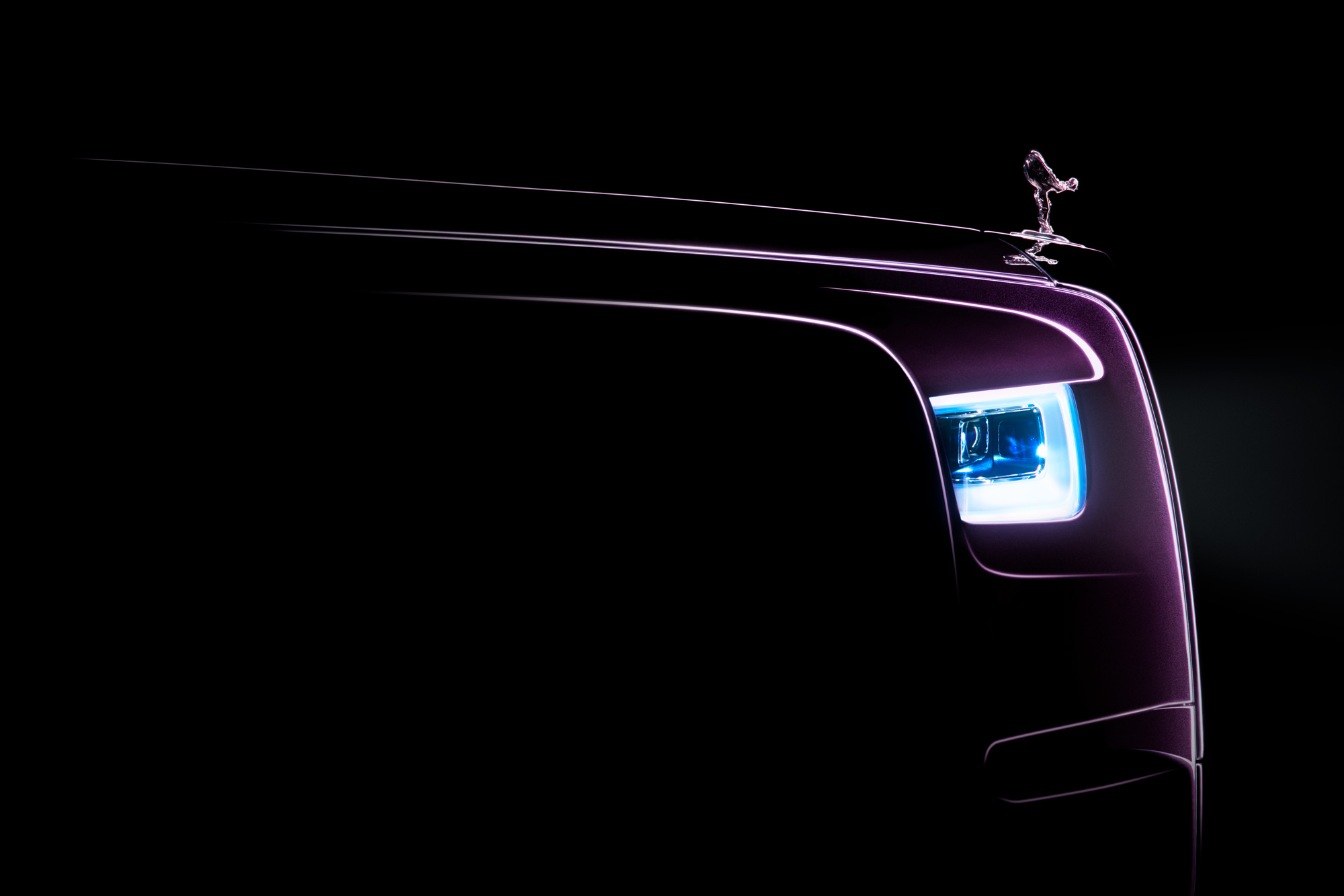 Rolls-Royce teases the next-generation Phantom VIII ahead of official launch