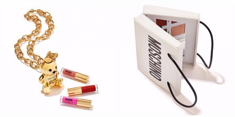 Moschino And Sephora Come Together For An Exclusive Make Up Collection