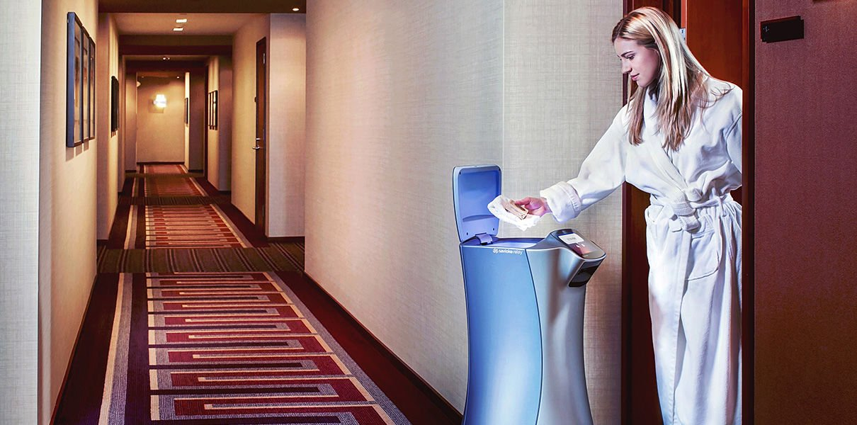 This Tokyo hotel will introduce a robot that will use elevators to deliver snacks and luggage to rooms : Luxurylaunches