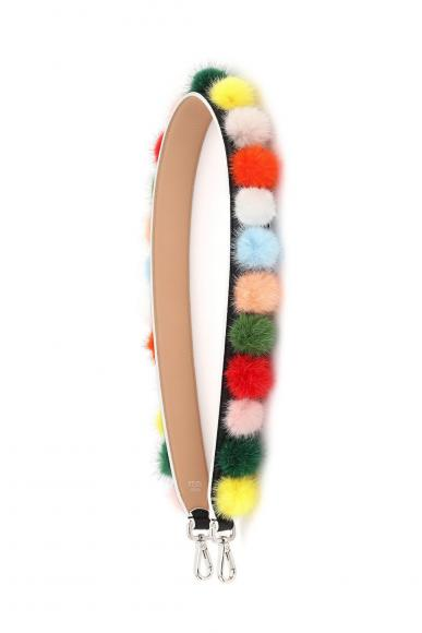 01_FENDI Multicolour Fur Pompons_Packshot_Strap You