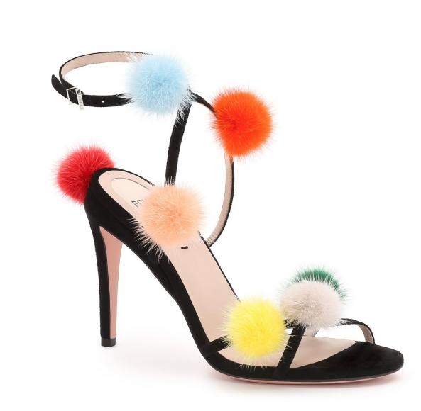 01_FENDI Multicolour Fur Pompons_Packshot_evening sandals