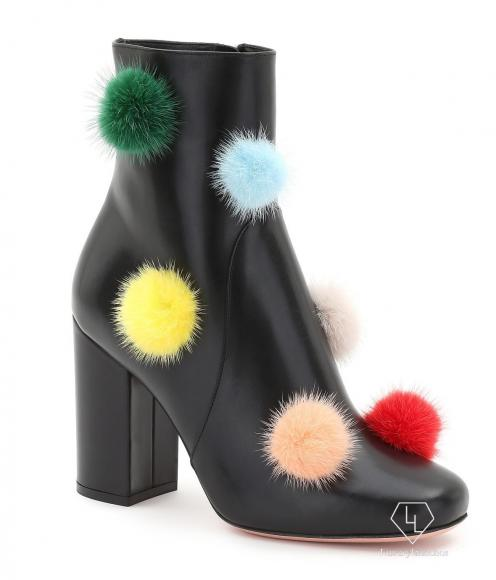 02_FENDI Multicolour Fur Pompons_Packshot_ankle booties