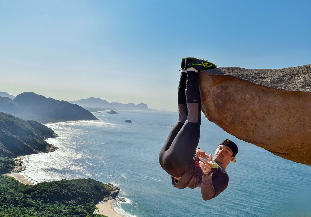 Would You Dare To Hang Off A Cliff And For A Bizarre