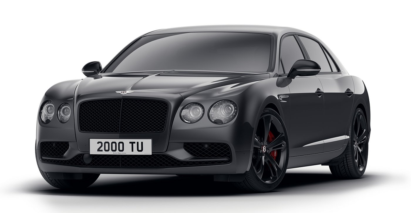 Bentley Flying Spur adopts a sinister-looking dark theme in the new Dark Edition