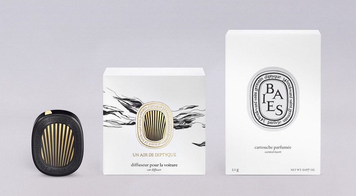 Diptyque's high end car fresheners are exactly as chic as you imagined