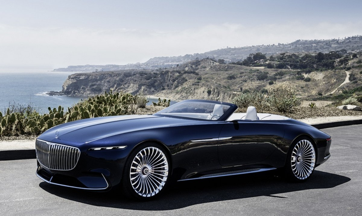 the vision mercedes maybach 6 cabriolet is an electric car that you ll actually want to drive. Black Bedroom Furniture Sets. Home Design Ideas