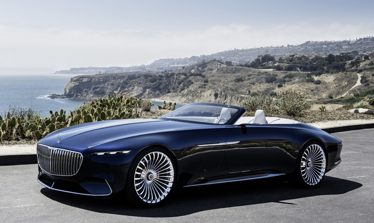 Car Transport Reviews >> The Vision Mercedes-Maybach 6 Cabriolet is an electric car ...
