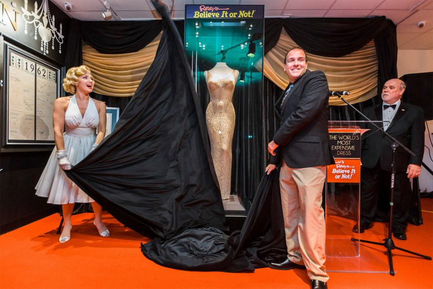 Ripley Entertainment - Marilyn Monroe dress