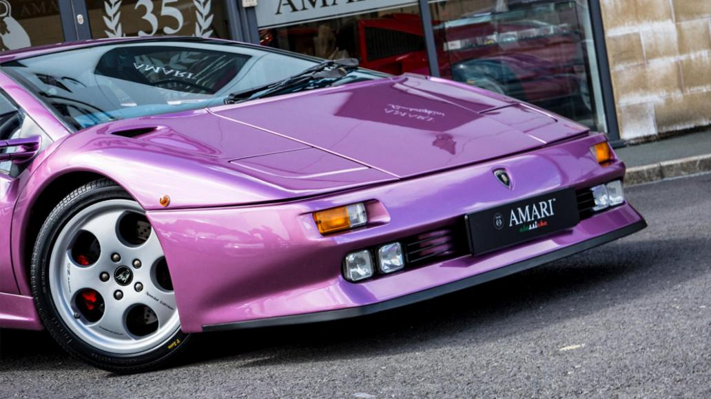 Jay Kay's purple Lamborghini Diablo from 'Cosmic ' is on sale ... on purple nissan gt-r 2014, purple dodge durango 2014, purple volkswagen beetle 2014, purple corvette 2014, purple bugatti veyron 2014, purple dodge challenger 2014, purple lotus elise 2014,