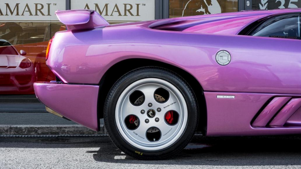 Jay Kay S Purple Lamborghini Diablo From Cosmic Girl Is On Sale