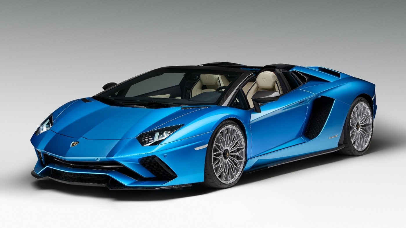 At $460k, the Lamborghini Aventador S Roadster is for those who want to hear the V12's roar