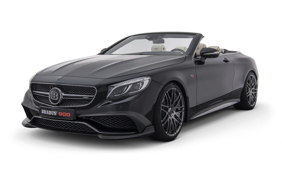 Brabus Rocket 900 – The fastest convertible in the world