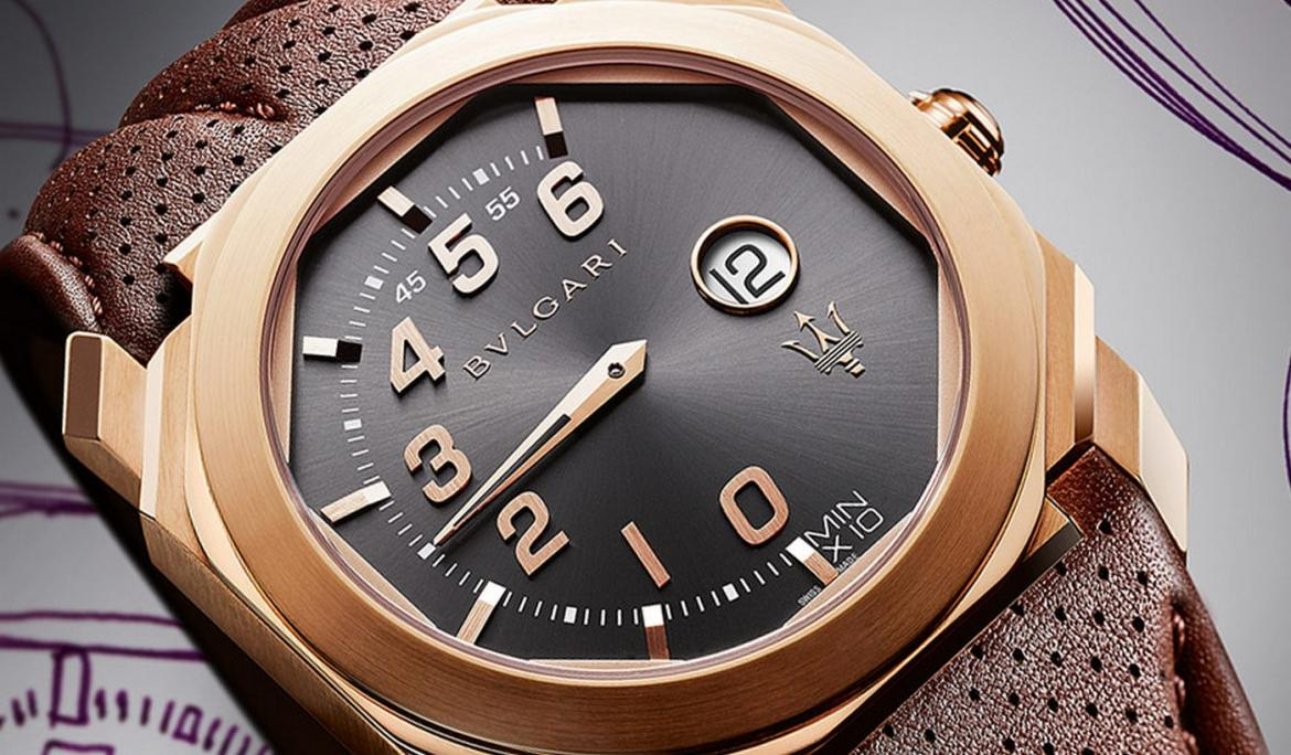 Bvlgari collaborates with Maserati for two special edition Octo watches -