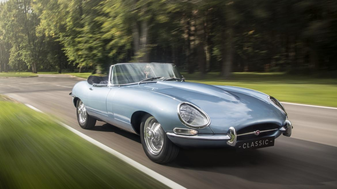Jaguar\'s E-type Zero puts modern spin on one of the most iconic ...