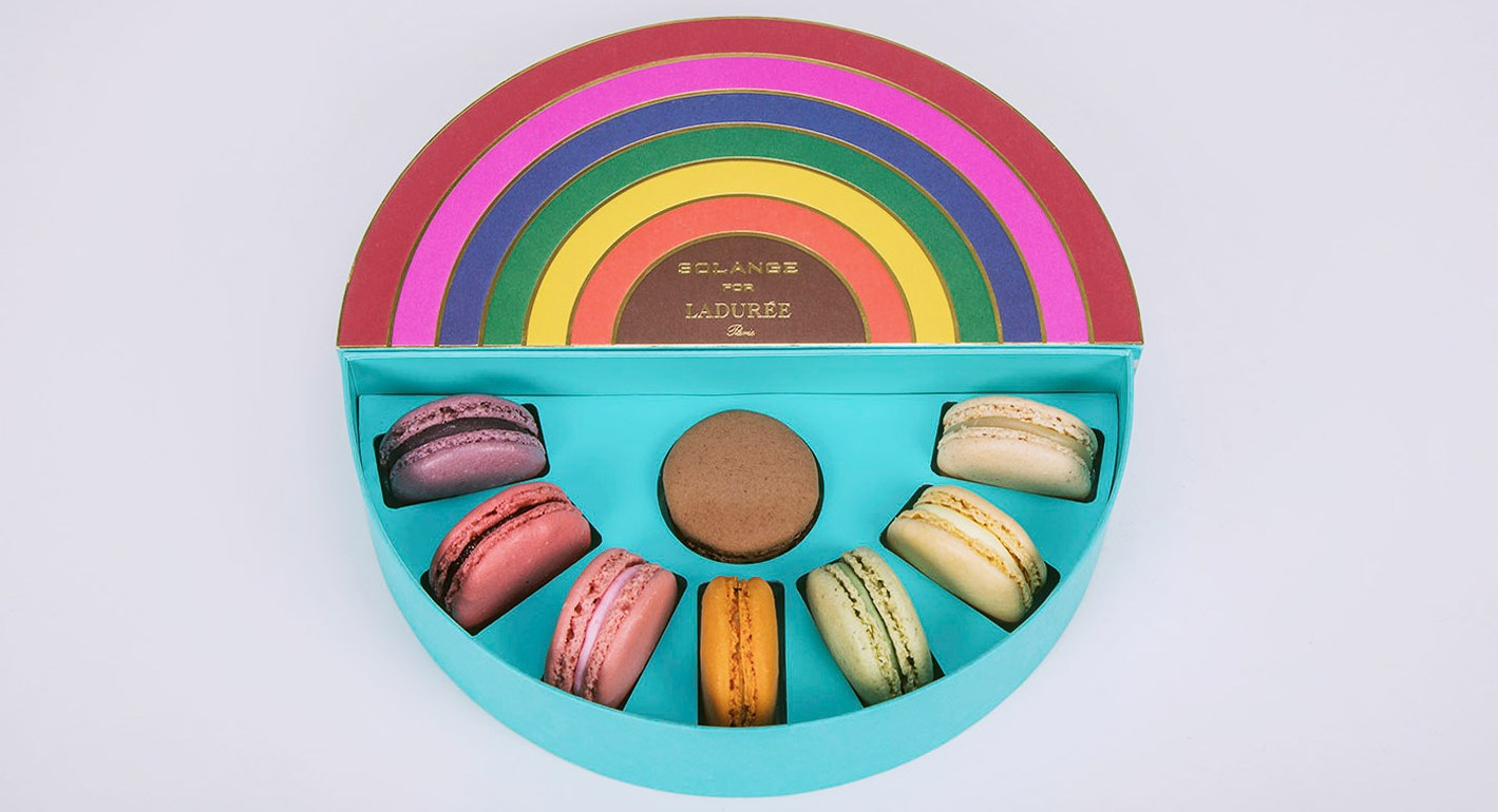 Ladurée and Solange Azagury-Partridge create a rainbow of