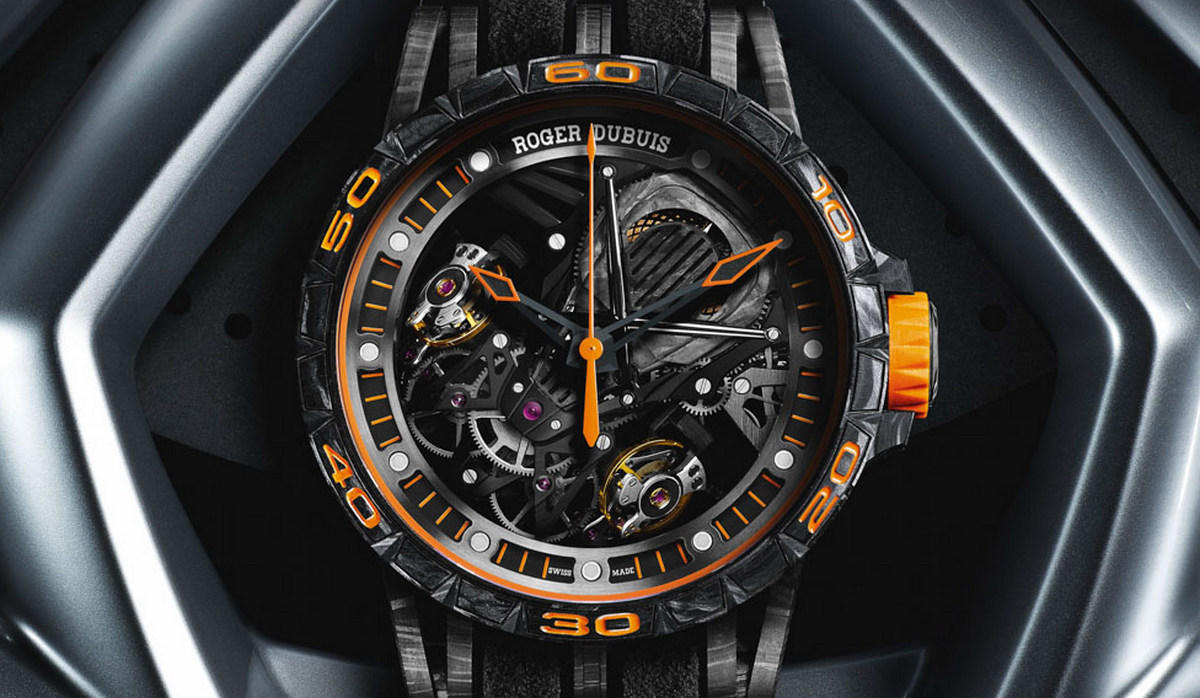 Lamborghini Teams Up With Roger Dubius For Aventador Watches
