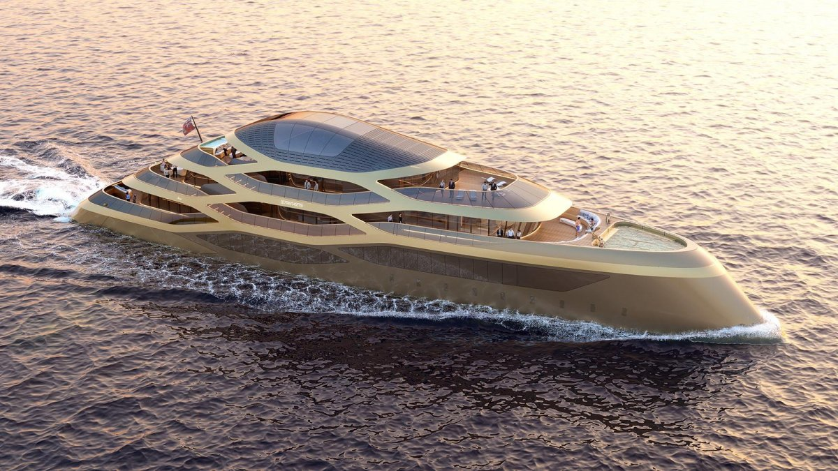 Benetti and Fernando Romero come together to introduce Se77antasette superyacht concept