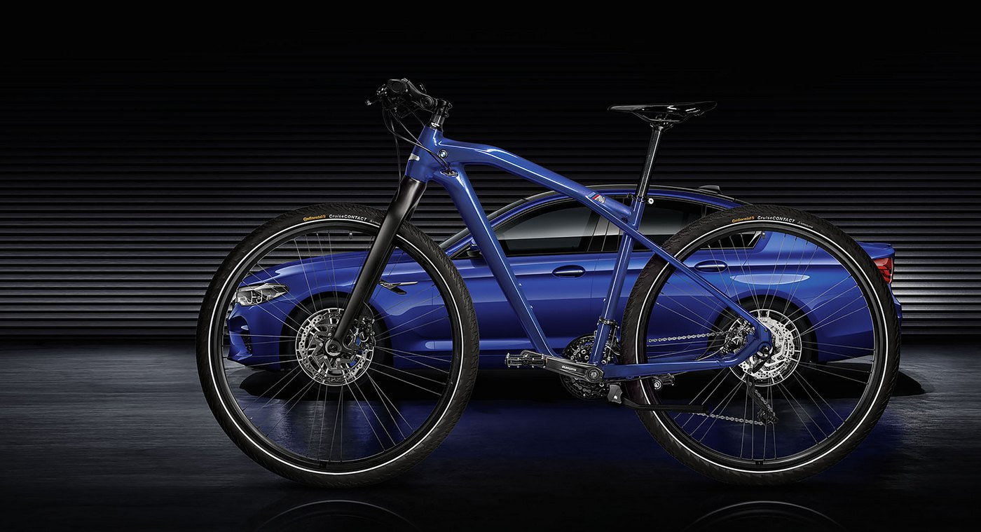 BMW unveils a limited edition M Bike featuring the all-new M5's special paintjob