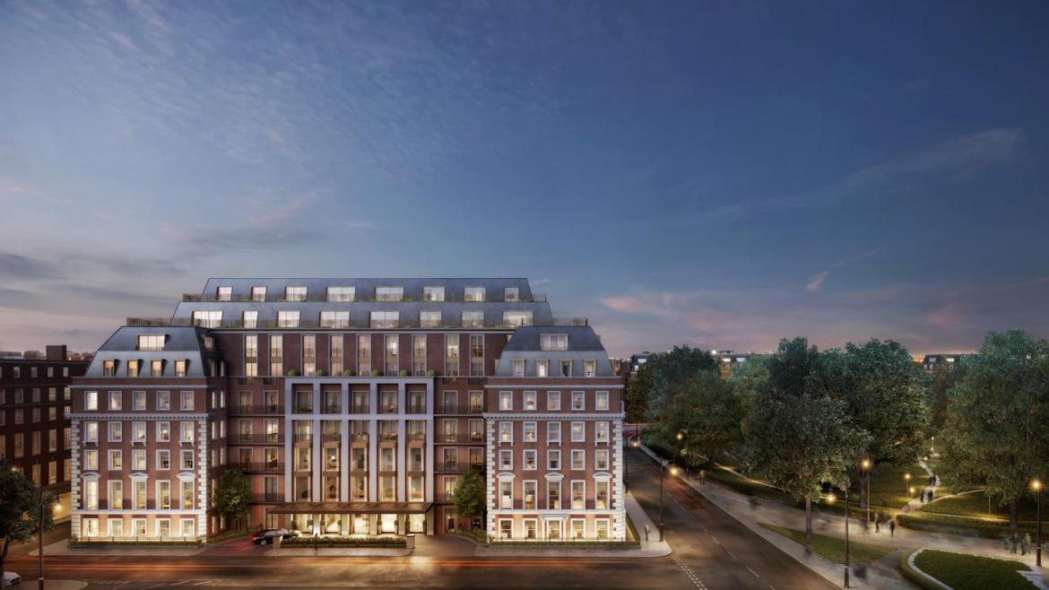 Four Seasons is building private residences in the heart of London city -