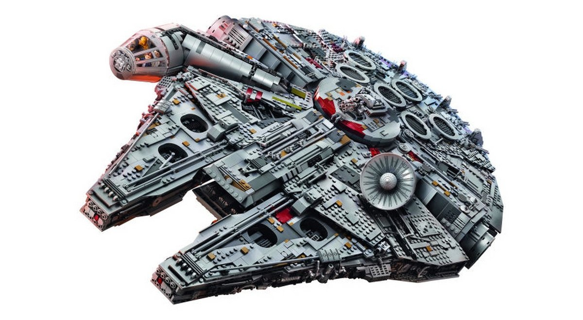 At 7,541 pieces this $800 Millenium Falcon is the largest Lego set, for now : Luxurylaunches