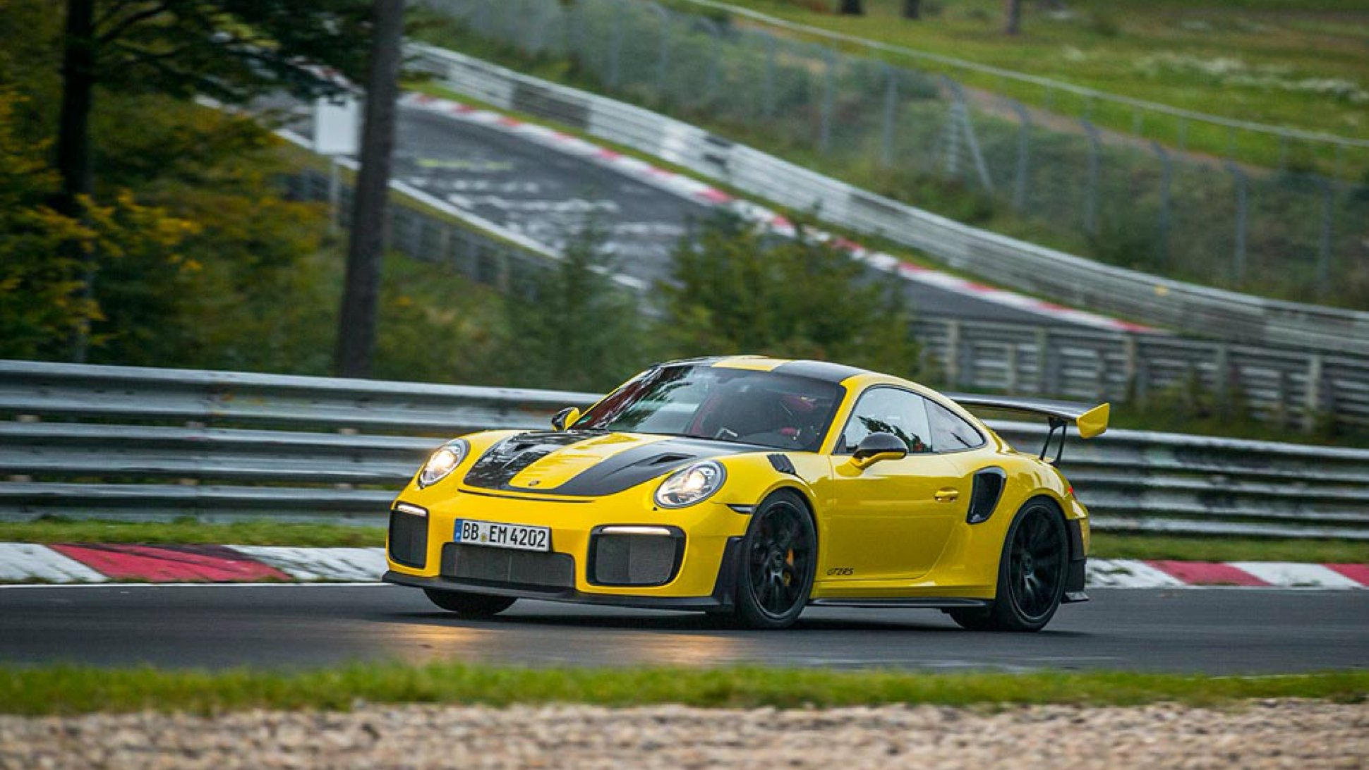 Porsche topples Lamborghini to set a new speed record at Nurburgring with the 911 GT2 RS
