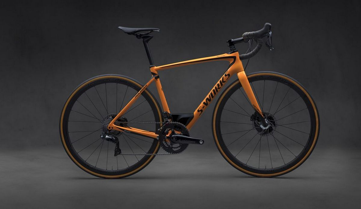 McLaren collaborates with Specialized for the S-Works Roubaix bicycle