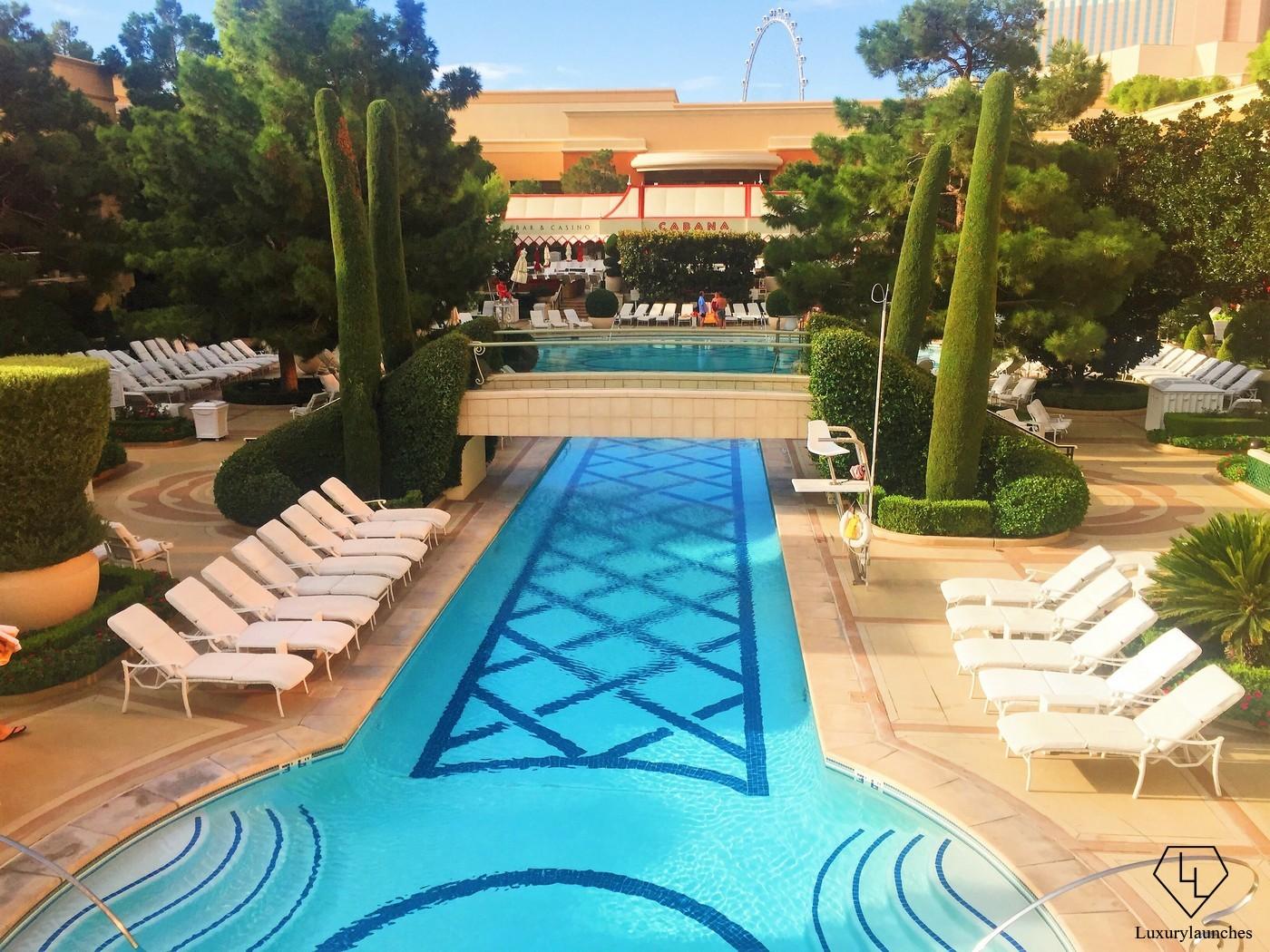 The Wynn Las Vegas Pool