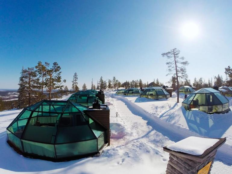 Lapland's luxury glass Igloos will give you the night sky in fully comfort glass igloos Lapland's luxury glass Igloos will give you the night sky in fully comfort 2 11 770x577