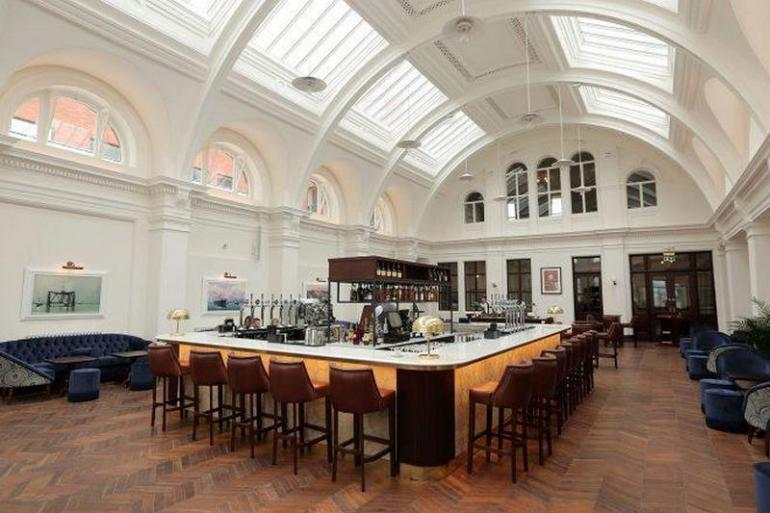 Inside The Newly Opened Titanic Hotel In Belfast