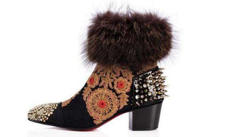 3c92f3168ef Voyage to India with Christian Louboutin's latest footwear collaboration