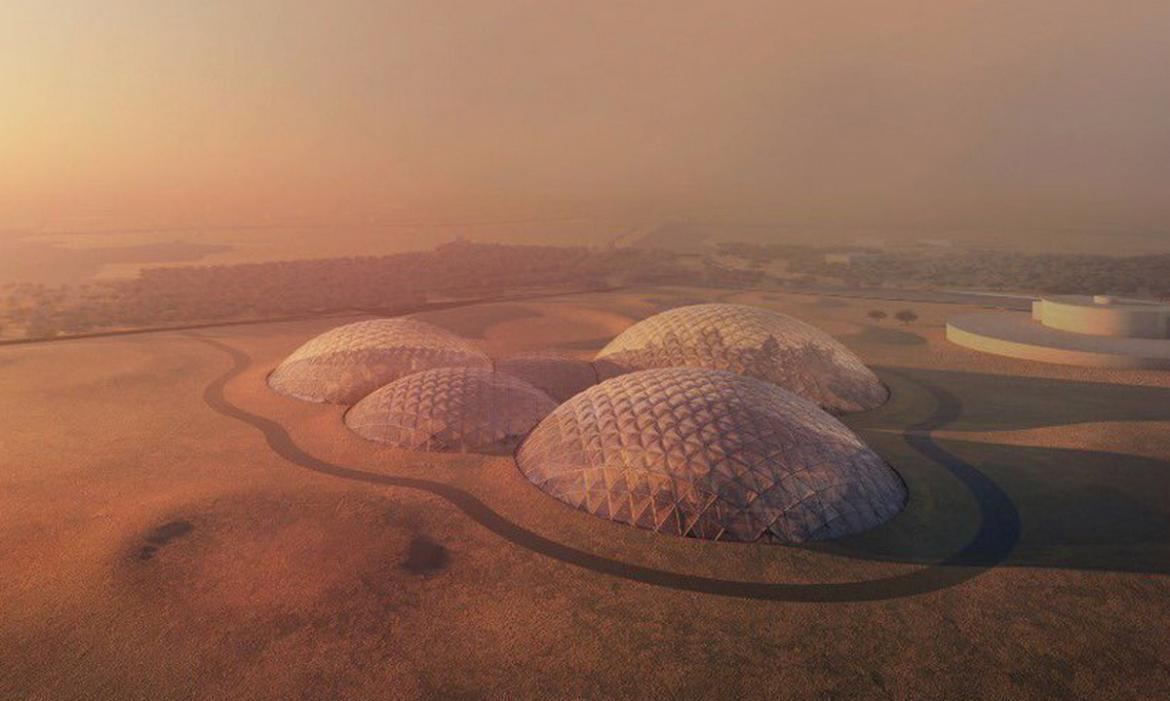 Dubai is building a massive Mars City in the desert to ...