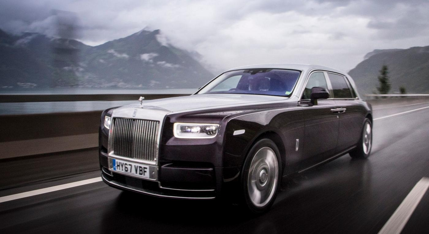 Rolls-Royce Phantom VIII: driving the world's quietest car in the Swiss Alps