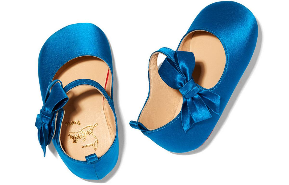 First Look: Christian Louboutin debuts baby shoe collection