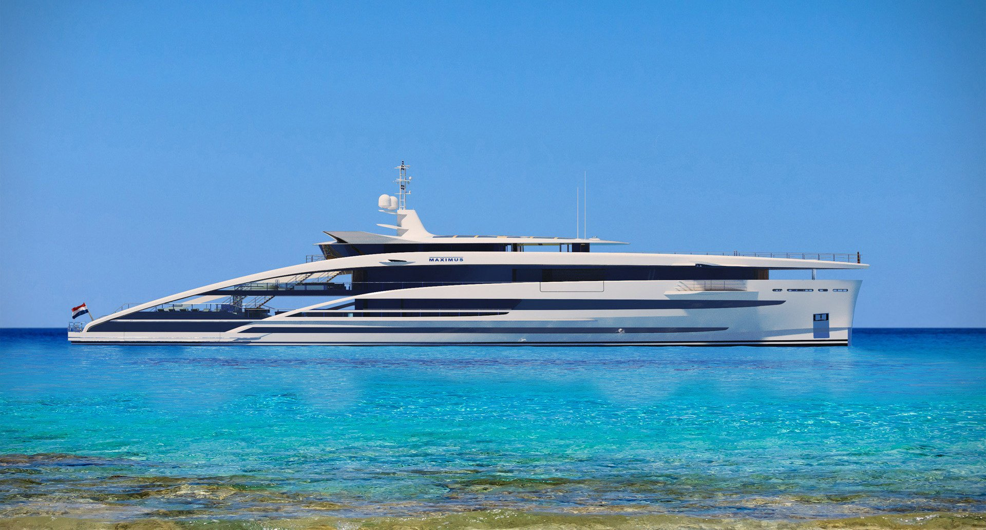 Meet Heesen S Largest Yacht Concept Project Maximus
