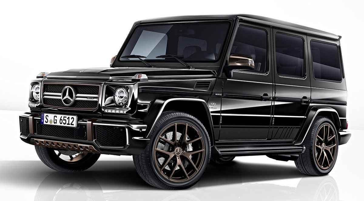 This special edition Mercedes-AMG G65 is the final goodbye to the legendary G-Wagen