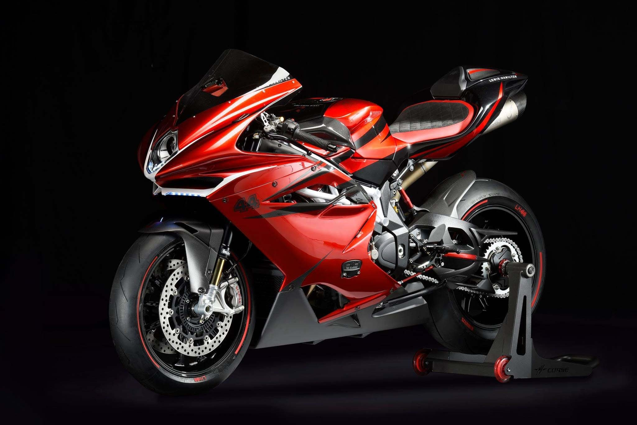 MV Agusta and Lewis Hamilton team up for a $70,000 limited edition motorcycle