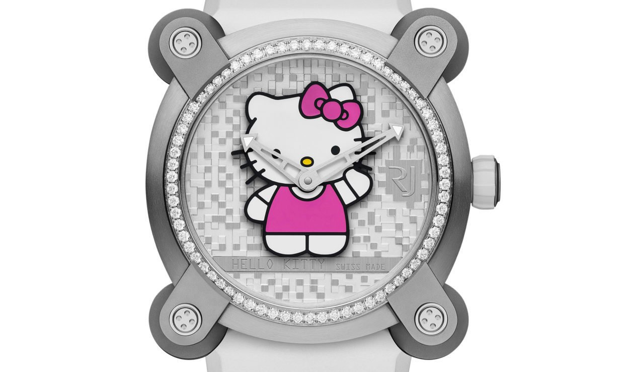 RJ-Romain Jerome Introduces limited edition Hello Kitty ...