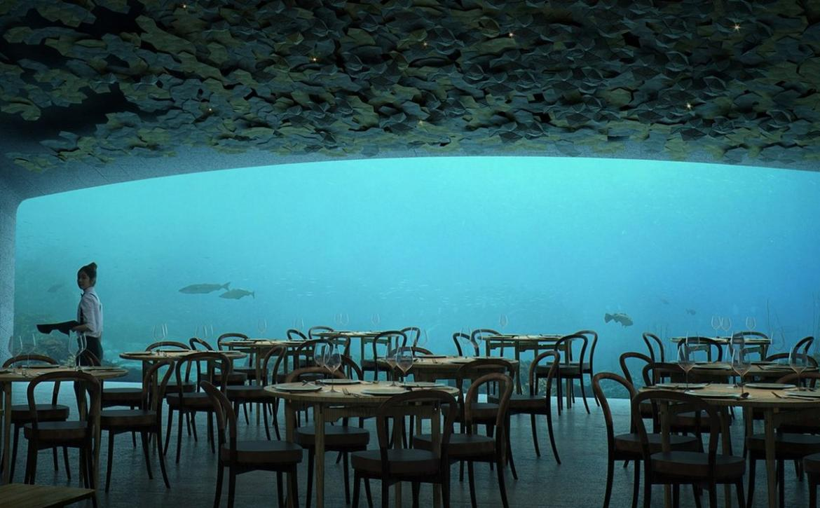 Take A Look Inside Europes First Underwater Restaurant To Be - Take a look inside europes first underwater restaurant