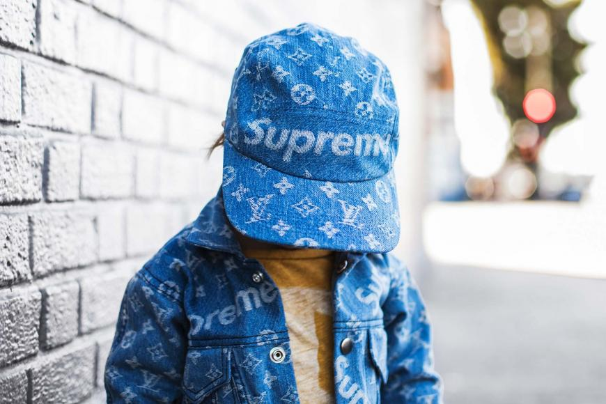Cars For Kids >> Louis Vuitton x Supreme for kids? This DIY will blow your ...