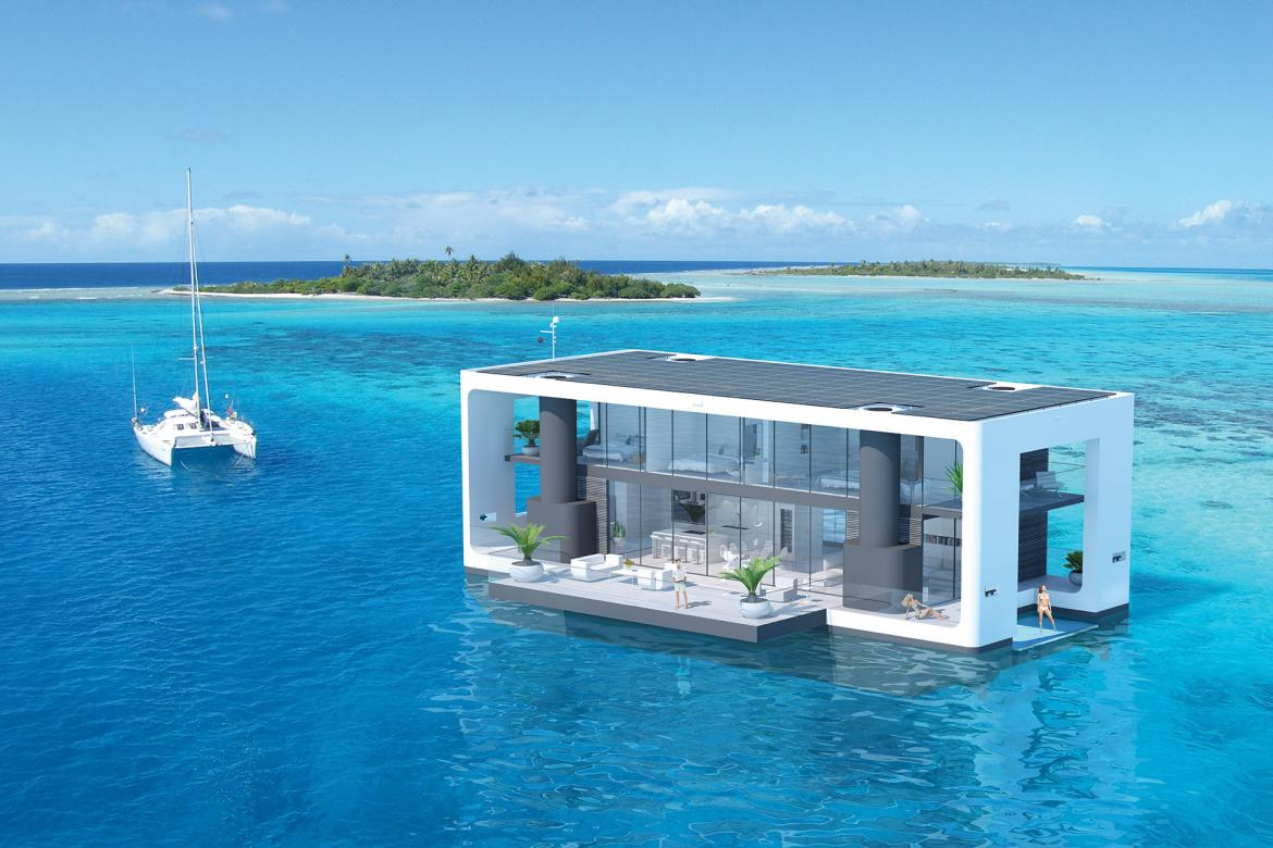 Check out the $2 million floating luxury homes that can withstand a