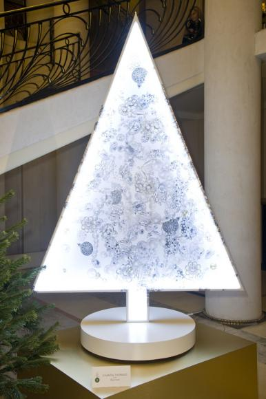 Chantal Thomass' luminous tree.
