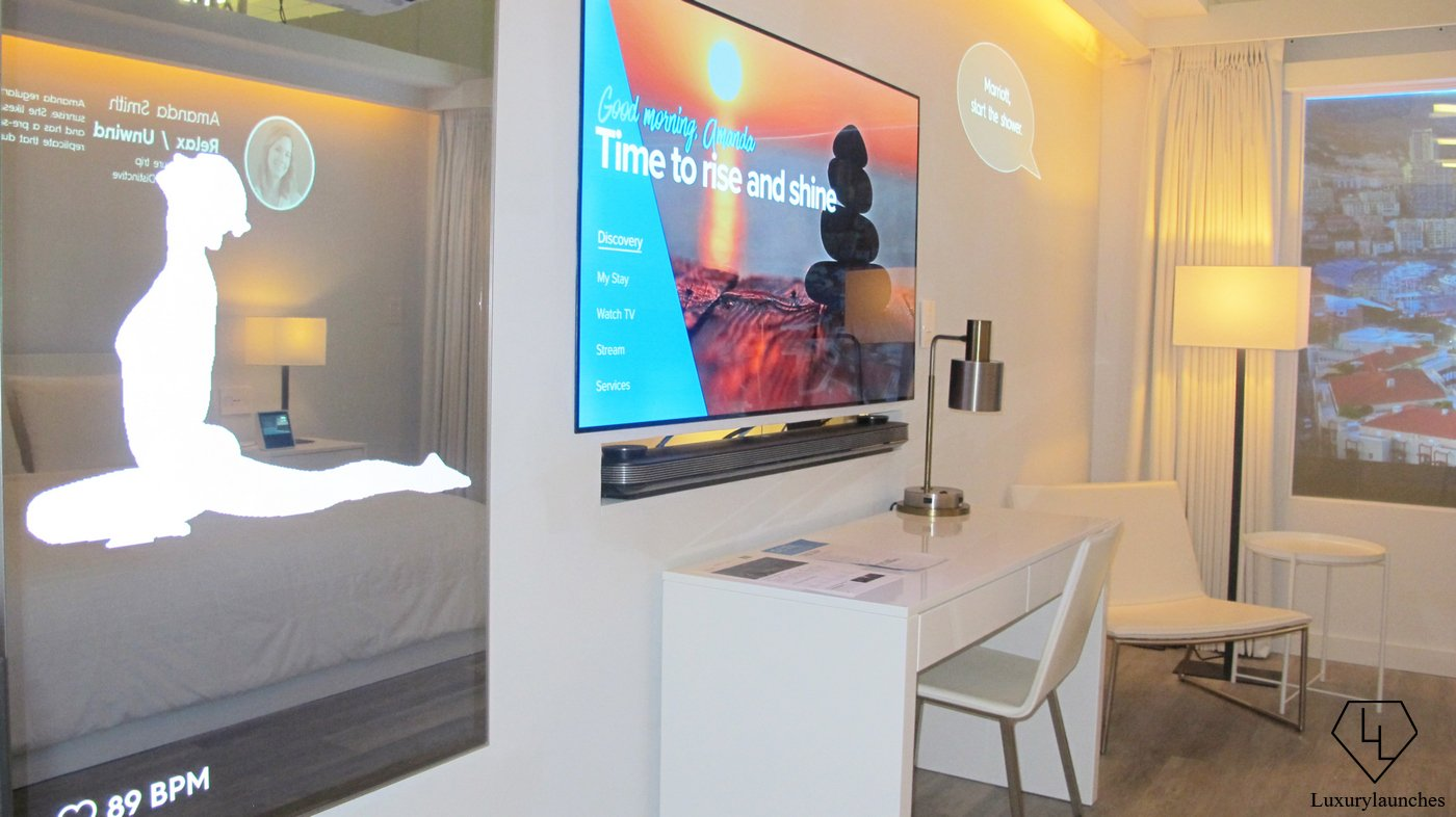 Cars Com Reviews >> Marriott unveils the hotel room of the future and raises the question - Will tech ever replace ...