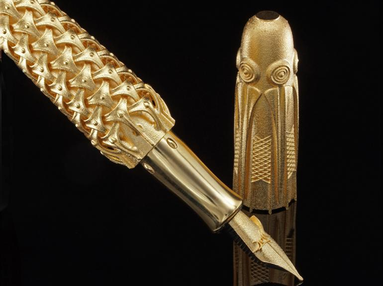 Discover the world's first 3D printed solid gold fountain pen fountain pen Discover The World's First 3D Printed Solid Gold Fountain Pen Pjotr SVgold BA