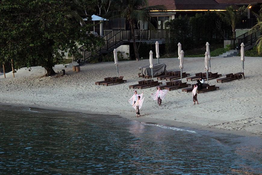 Ritz Carlton Langkawi - Beach Bar Grill