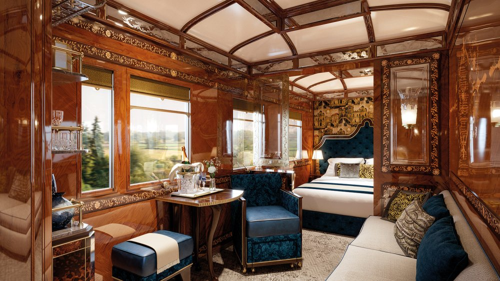 The original Orient Express train is getting three new palatial suites : Luxurylaunches