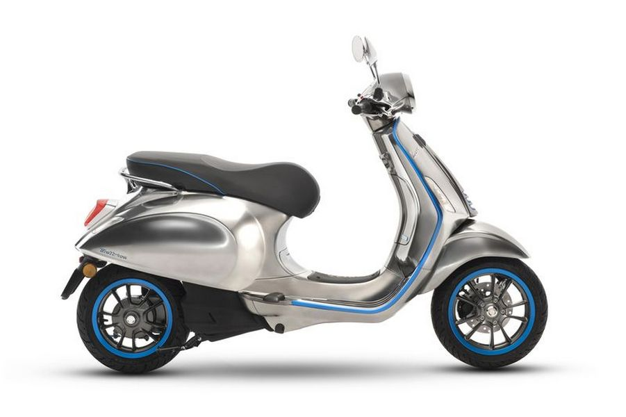 Vespa's first electric scooter will arrive in 2018 with a 62-mile range