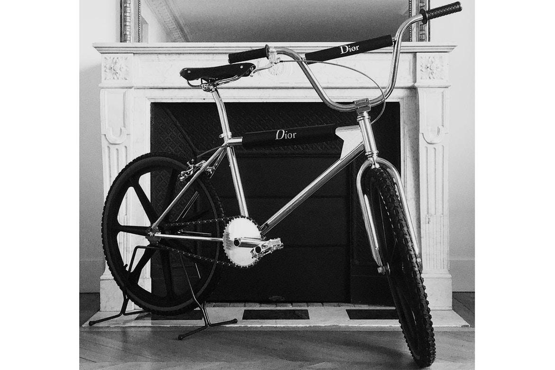 Dior-branded BMX bike teased online