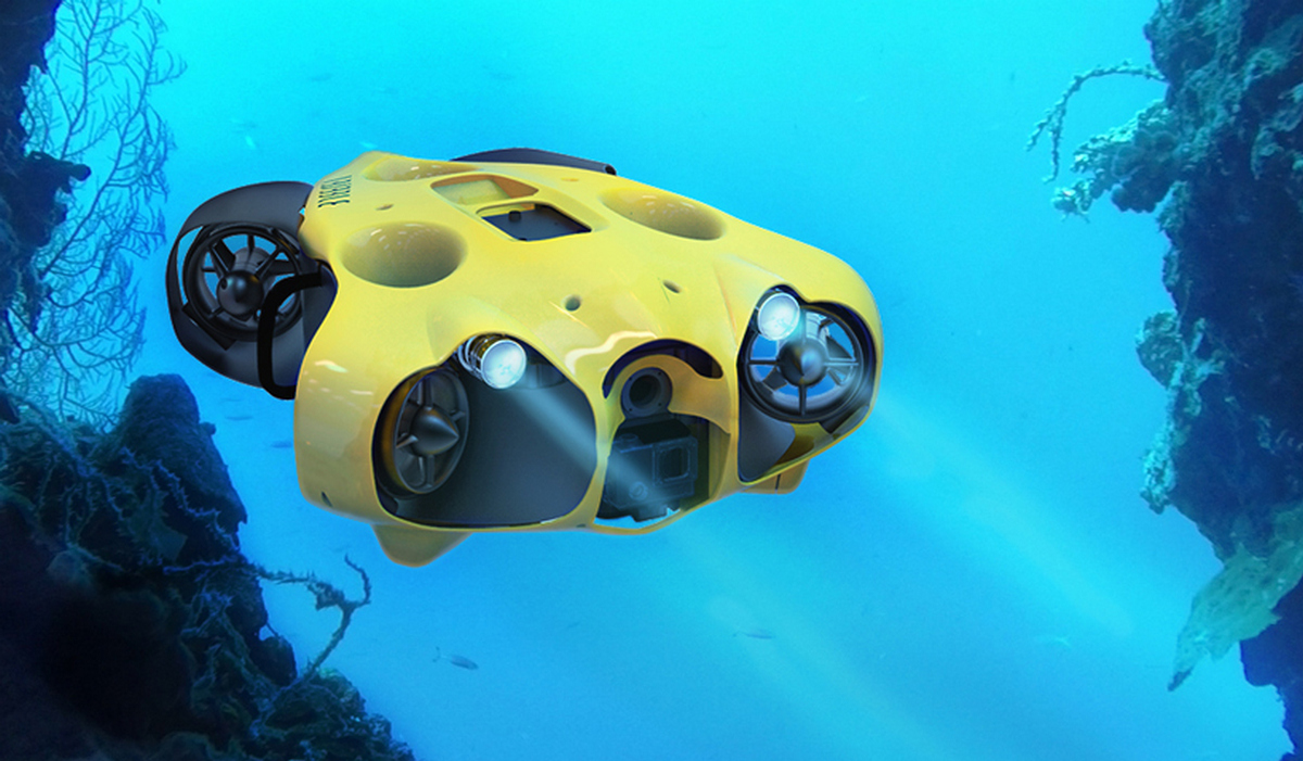 This Underwater Drone Can Help You Get The Ultimate