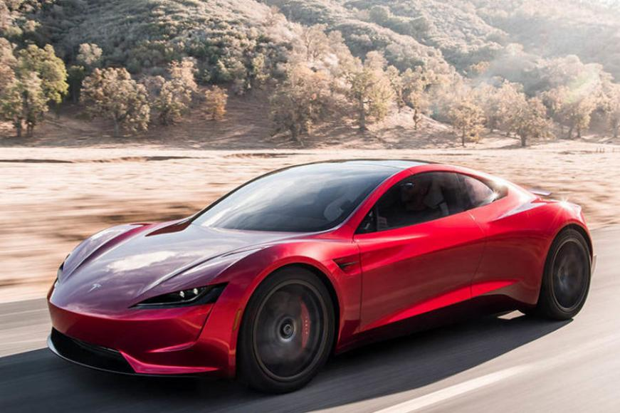 Tesla unveils the second generation Roadster