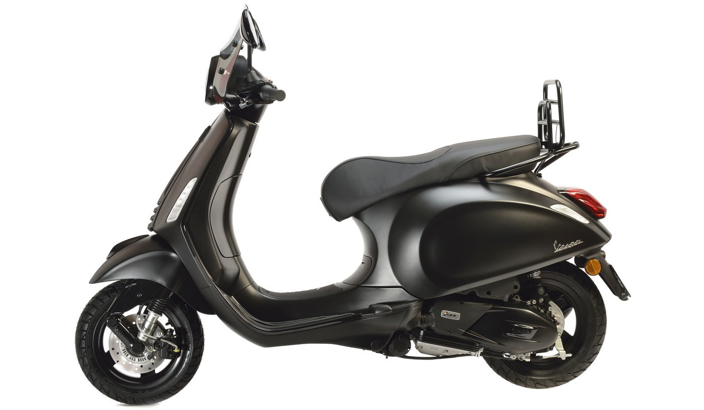 Saint Laurent collaborates with Vespa to create ta very attractive scooter : Luxurylaunches